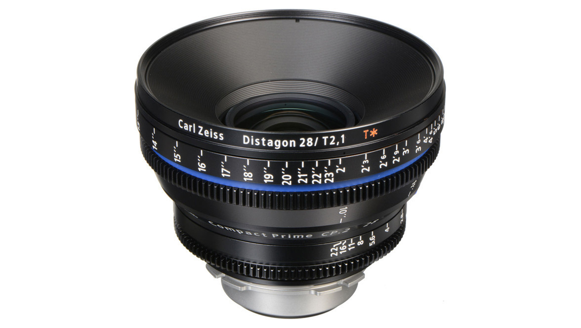 ZEISS 28mm T2 1 CP 2 T* Compact Prime - Imperial, PL Mount