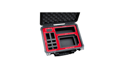 Jason Cases Blackmagic Design Video Assist 4K Case with Red Overlay