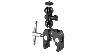 "SmallRig Multi-Function Double BallHead with Clamp & 1/4"" Screw"