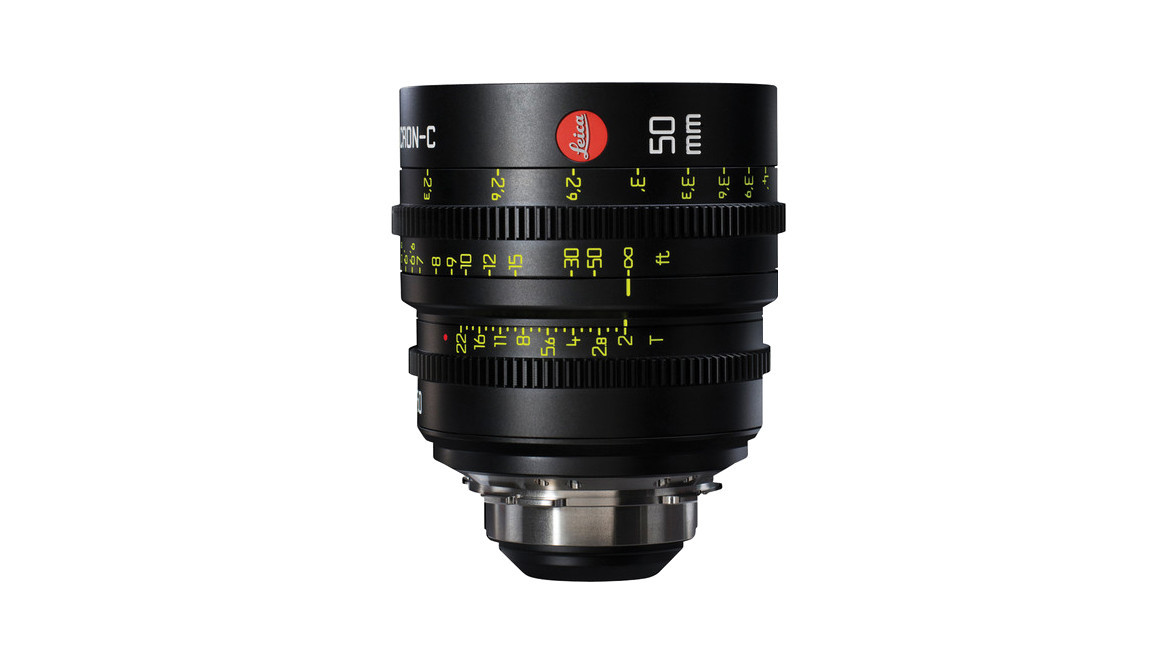 Leica 50mm Summicron-C T2 0 Prime - PL Mount | Cine Lenses