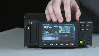 Intro image for article At the Bench: AJA Ki Pro Ultra Plus