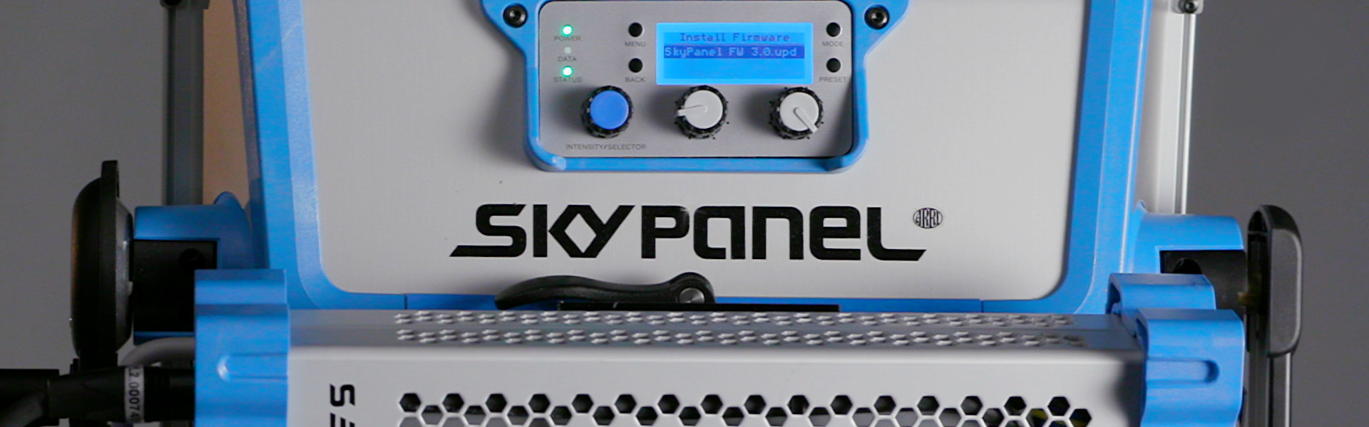 Header image for article At the Bench: ARRI SkyPanels Firmware 3.0 Overview