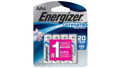 Energizer Ultimate Lithium AA Battery (4-Pack)