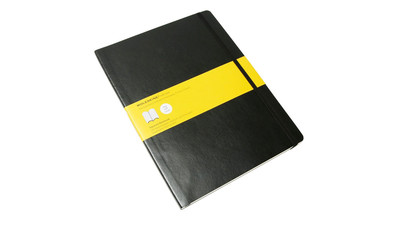 Moleskine Classic Squared Notebook - Large, Black