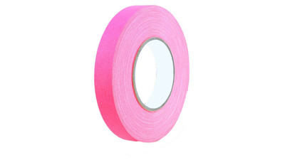 "Paper Tape - 1"", Fluorescent Pink"
