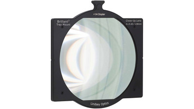 Lindsey Optics Brilliant2 +1/4 Diopter Tray Mount Close-Up Lens - 4 x 5.65