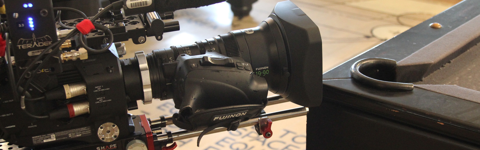 Header image for article Behind the Lens: Fujinon Cabrio 19-90mm Zoom