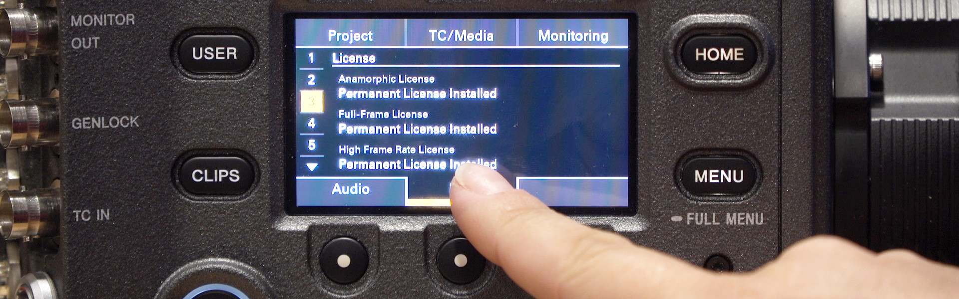Header image for article At the Bench: Adding a License to Your Sony VENICE Camera