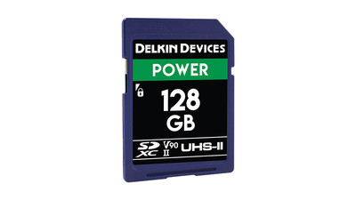 Delkin Devices Power UHS-II SDXC Memory Card - 128GB