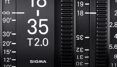 Intro image for article Explore the Latest Sigma Cine Lineup
