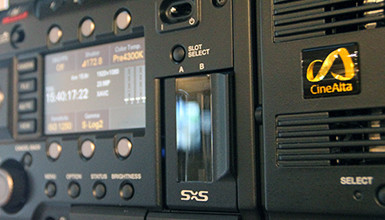 Intro image for article Recording 4K XAVC & HD Simultaneously on the Sony F55