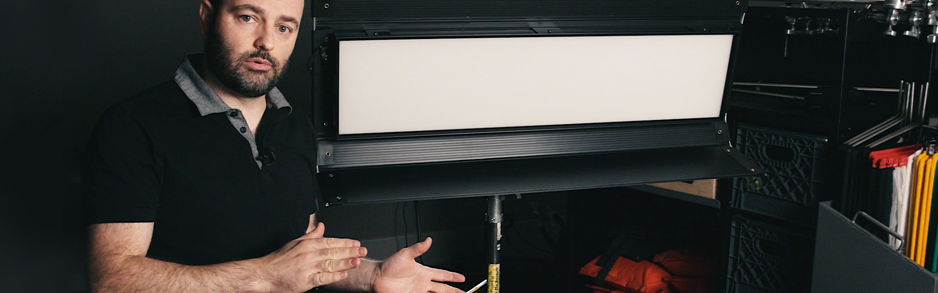 Header image for article At the Bench with Jem Schofield: Kino Flo Select 30 LED System