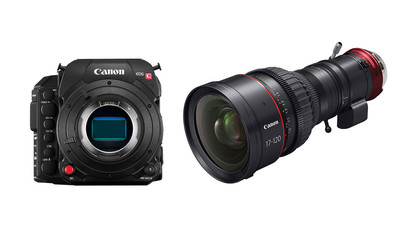 Canon C700 FF Camera with PL Mount and 17-120mm CINE-SERVO Zoom Kit