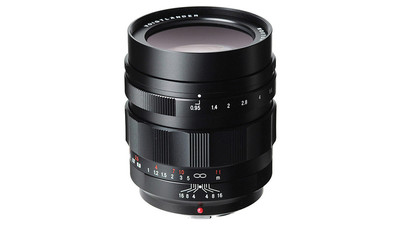 Voigtlander 42.5mm f/0.95 Nokton Super High Speed Portrait Prime - MFT Mount