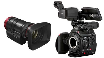 Canon C300 Mk II Touch Focus Kit & 18-80mm Zoom Bundle