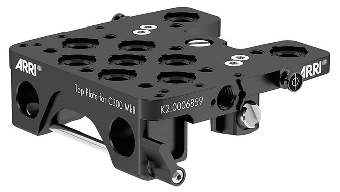 ARRI Top Plate for Canon C300 MKII   Cages / Baseplates   Camera