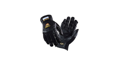 Setwear Pro Leather Gloves - X-Small, Black (1 Pair)