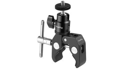 "SmallRig Clamp Mount with 1/4"" Screw Ball Head Mount"