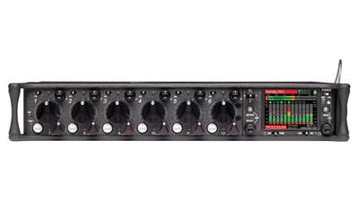 Sound Devices 688 12-input Field Mixer with 16-Track Integrated Recorder with Timecode