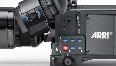 Intro image for article ARRI ALEXA XT Open Gate & Resolve Support