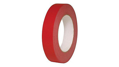 "Paper Tape - 1"", Red"