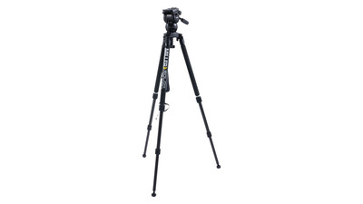 Miller CX2 Solo 75 2-Stage Carbon Fiber Tripod System - 75mm Ball
