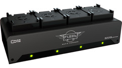 Core SWX Fleet FF Simultaneous Quad Charger for Li-Po MoVI Pro Batteries