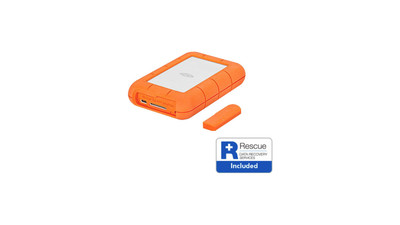 LaCie Rugged USB 3.1-C with Rescue Data Recovery - 2TB