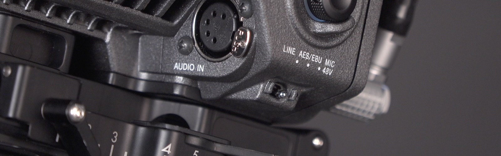Header image for article At the Bench: Audio and the Sony VENICE Camera