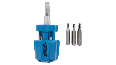 Stubby Multibit Screwdriver - Assorted Colors