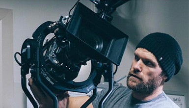 Intro image for article Andrew Theiss Steps Up to the ARRI TRINITY Camera Stabilizer