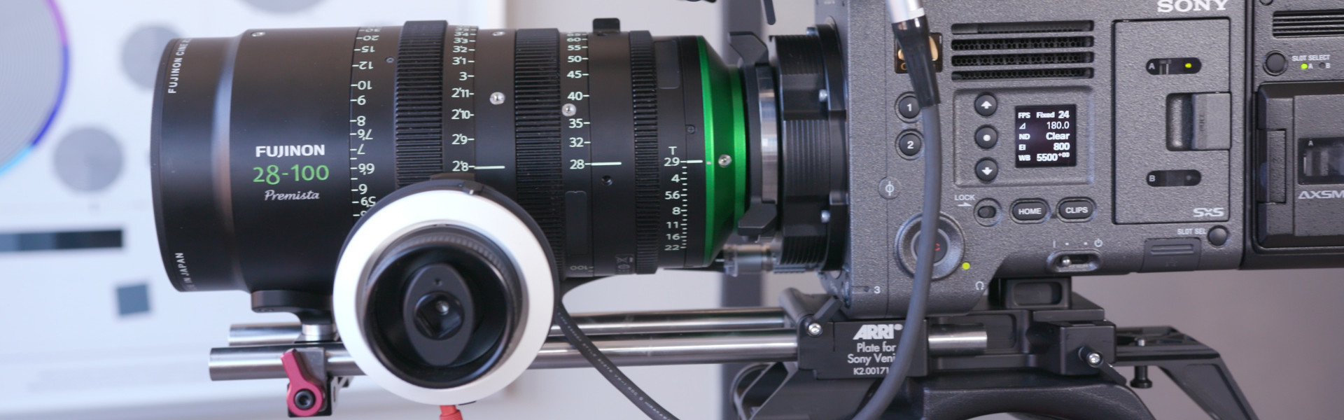 Header image for article At the Bench: First Look at the Fujinon Premista 28-100mm Zoom
