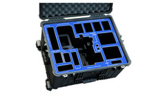 Jason Cases ARRI ALEXA Mini Case (TILTA Plates) - Blue Overlay