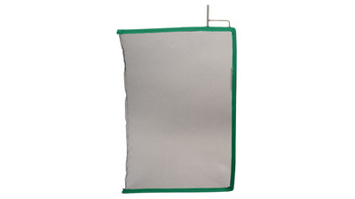 "Matthews 24"" x 36"" Single Scrim Open End - Black"