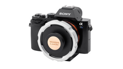 Wooden Camera E-Mount to PL Mount Pro Adapter for Sony A7s