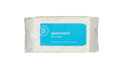 Baby Wipes - Unscented (80-Pack)
