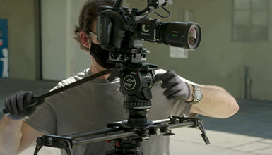 Intro image for article At the Bench: Sachtler aktiv Series
