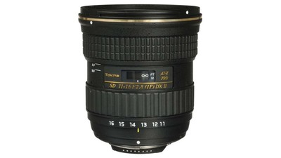 Tokina 11-16mm f/2.8 AT-X 116 PRO DX-II Super-Wide Zoom - F Mount