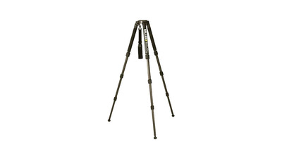 Miller 2001 Solo 75 3-Stage Carbon Fiber Tripod with Retractable Foot Pads
