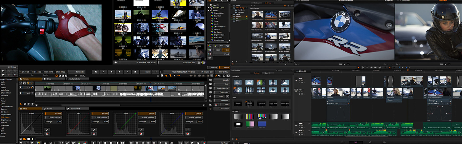 Header image for article Phantom Flex4K Workflow Solutions