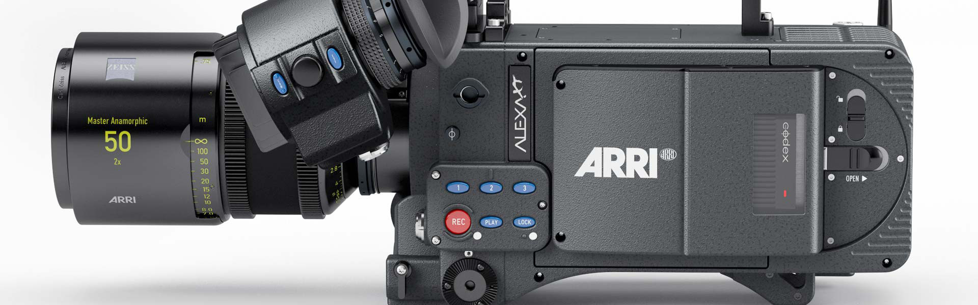 Header image for article ARRI ALEXA XT Open Gate & Resolve Support