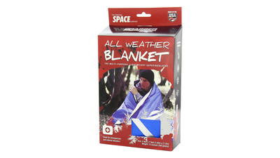 Grabber Outdoors All Weather Space Blanket - Blue
