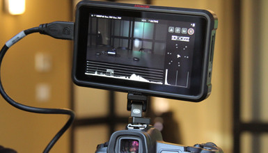 Intro image for article Atomos Announces New Shinobi On-Camera Monitor