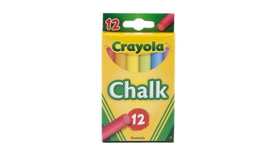 Crayola Chalk - Assorted Colors (12-Pack)