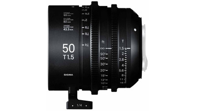 Sigma 50mm T1.5 FF High Speed Prime - Imperial, PL Mount