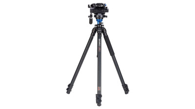 "Benro S6 Video Head & Series 2 Tripod System - 3/8""-16 Leveling"