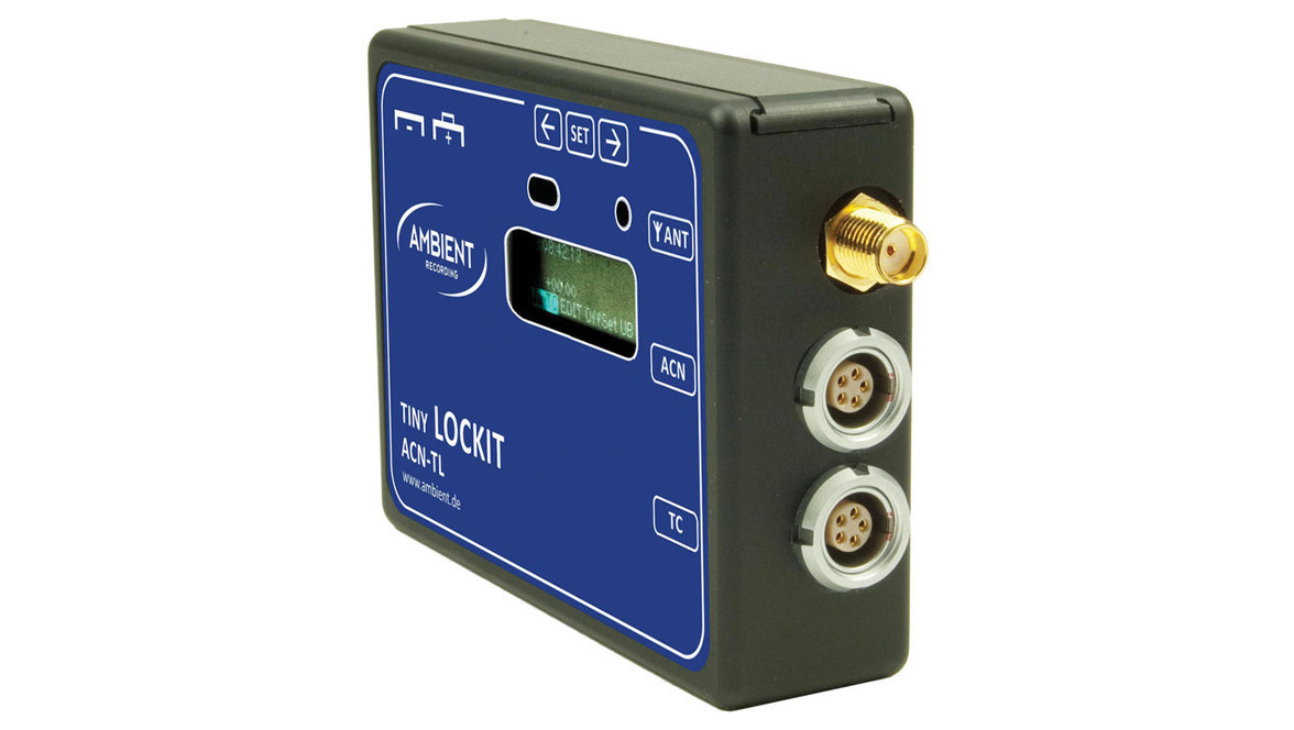 Ambient Recording ACN-TL Tiny Lockit Timecode Synchronizer