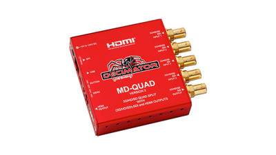 Decimator MD-QUAD V3 SDI/HDMI Multi-Viewer / Quad-Splitter