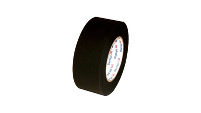 "Photographic Masking Tape (Shurtape CP743) - 2"", Matte Black"