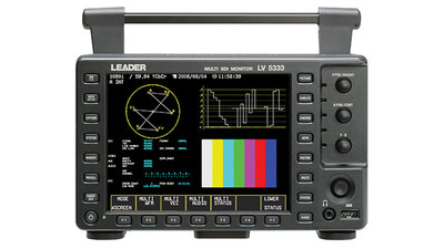 "Leader LV5333 6.5"" Multi SDI Waveform Monitor for 3G/HD/SD-SDI Signals"
